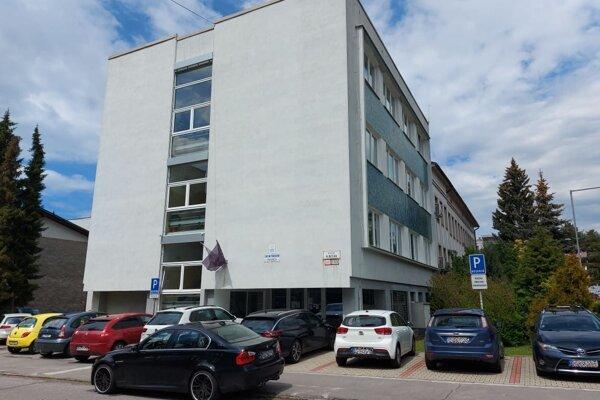 Budova Okresnej prokuratúry v Prievidzi.