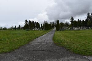 Cintorín Poprad - Veľká bude väčší.