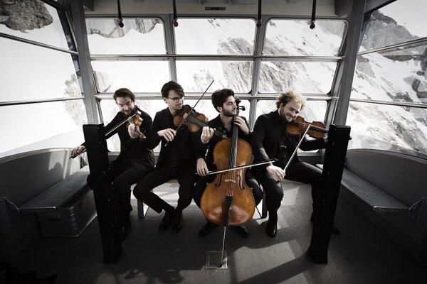 Goldmund Quartet.