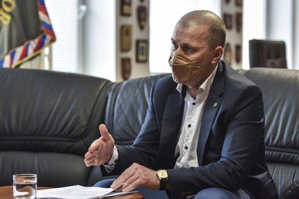 Policajný prezident Peter Kovařík.