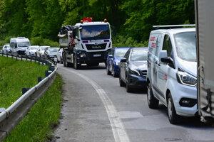 Vodiči musia rátať s dopravným obmedzením.