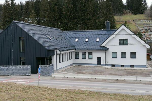 Zrekonštruované zdravotné stredisko v Oravskej Lesnej.
