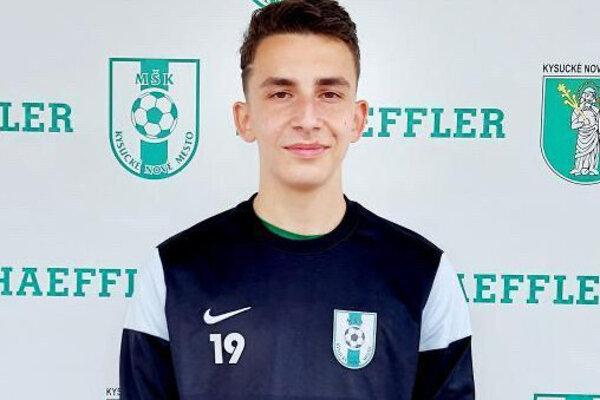 Samuel Halúska, kapitán U19 v Kysuckom Novom Meste.