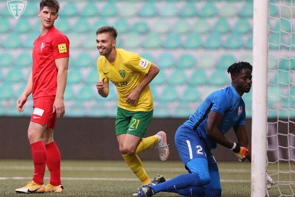 Ján Bernát strelil tretí gól Žiliny.