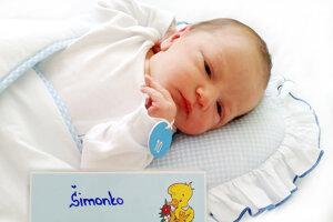 Šimon Marko z Handlovej sa narodil 26. 5. 2021 v Bojniciach