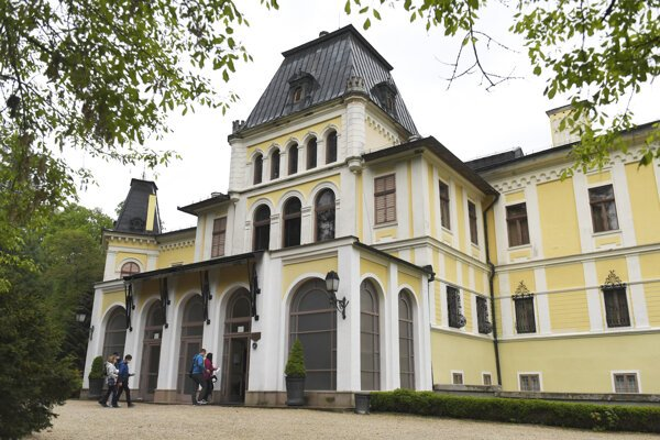 Kaštieľ Betliar patril v minulosti rodu Andrássyovcov.