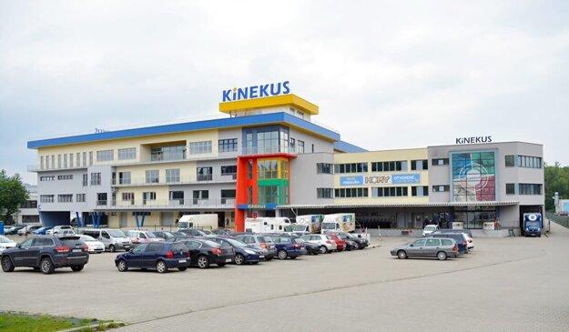 Centrála a distribučné centrum v Žiline.