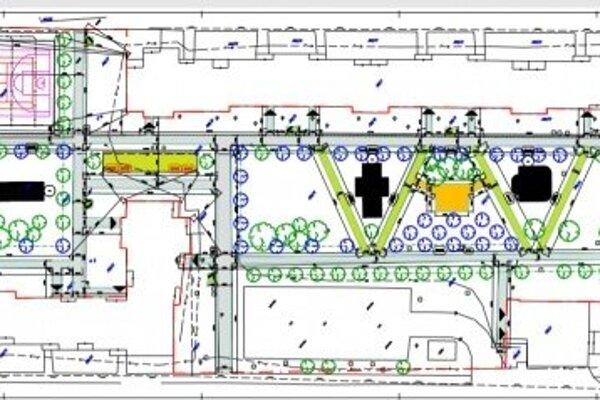 Vizualizácia projektu.