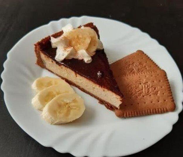 Banánový cheesesake