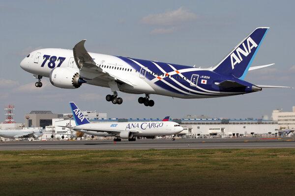 Lietadlo spoločnosti All Nippon Airways