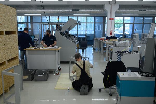 Nová výrobná hala poločnosti Mühlbauer v Nitre. Ilustračná fotografia.