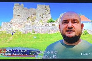 Filmy videli aj fanúšikovia v Číne. Jeden z nich, kamarát  Attilu Agga, mu poslal tento záber.