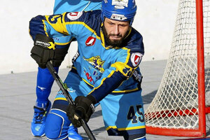 Hokejbalistovi Petrovi Gulíkovi zrejme počas zápasu zlyhalo srdce.