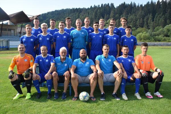 Spoločné foto FK Čadca ešte pred začiatkom jesene 2020/2021.