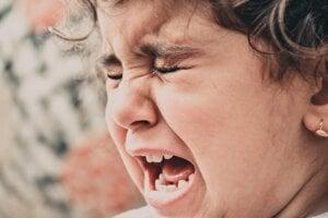 Čo sa deje s dieťaťom, keď má záchvat hnevu?