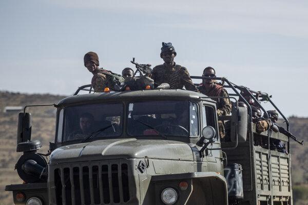 Príslušníci etiópskej armády.