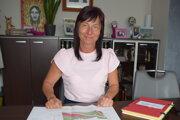 Renáta Majchráková predstavila projekt oddychovej zóny v obci Svrčinovec.