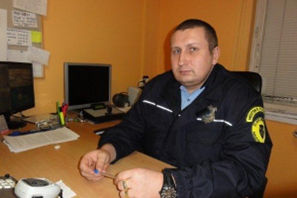Nový náčelník Marián Takáč.