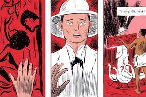 Ukážka z komiksového románu Štefánik, ktorý nedávno vyšiel na Slovensku v spolupráci vydavateľstiev Slovart a Labyrint.