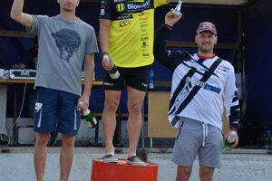 Traja najlepší: 1. miesto: Štefan Svitko, 2. miesto Thomas Hostinský, 3. miesto Jaroslav Štrbek.