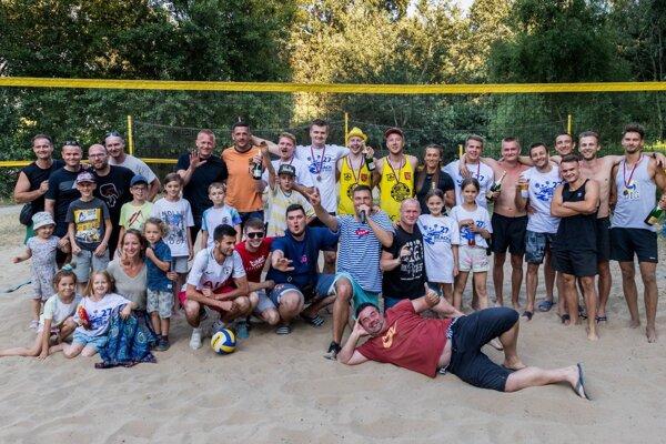 Časť účastníkov sobotňajšieho turnaja.