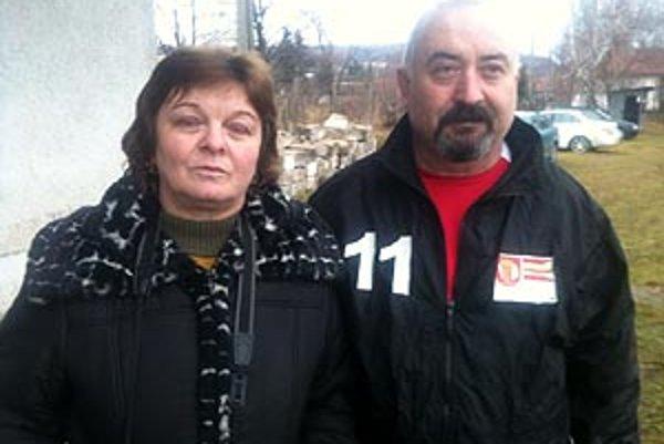 Hostitelia Štefan Segíň s manželkou Máriou vzdali futbalistom hold.