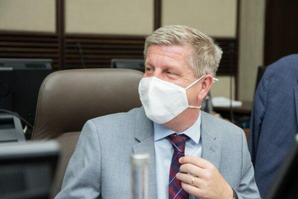 Vladimír Lengvarský, šéf rezortu zdravotníctva.