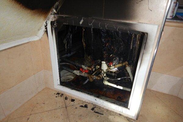 Podľa hasičov horel bojler.