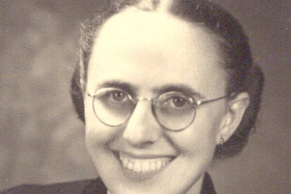 Darina Bancíková v mladosti.