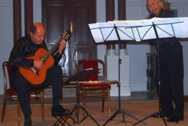 Festival otvoril koncert Jána Labanta a Jána Figuru.