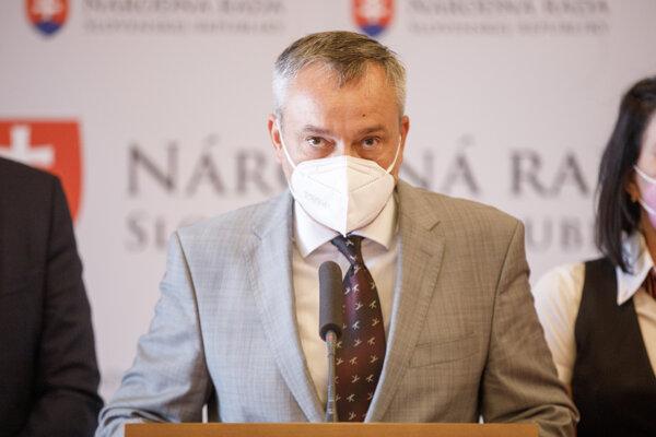 Poslanec SaS Radovan Sloboda.