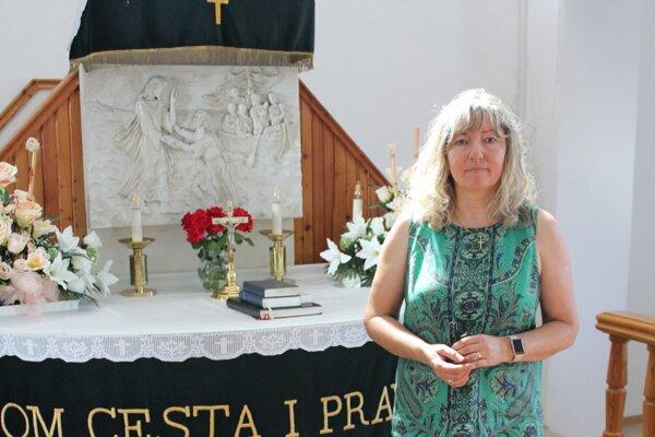 Renáta Madzinová pôsobí vkostole ako farárka skoro dve desaťročia.