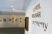 Výstavu Karol Molnár – premeny si môžete pozrieť vGalérii Ľudovíta Fullu do 22. augusta 2021.