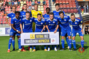 FK Senica pred prvým kolom proti MFK Ružomberok.
