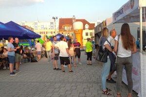 V Topoľčanoch sa konal pivný festival.