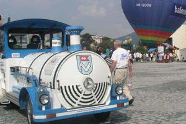 Oslavy svetového Dňa cestovného ruchu v Nitre ponúknu aj jazdy nitrianskym vláčikom.