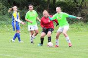 Ženský futbal si už našiel v Oravskom Podzámku svojich fanúšikov.