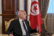 Tuniský prezident Kajs Saíd.