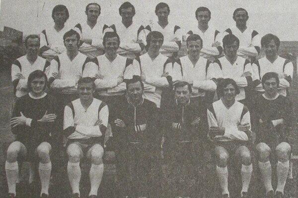 Futbalisti TJ Tatran Prešov vsezóne 1972/73.