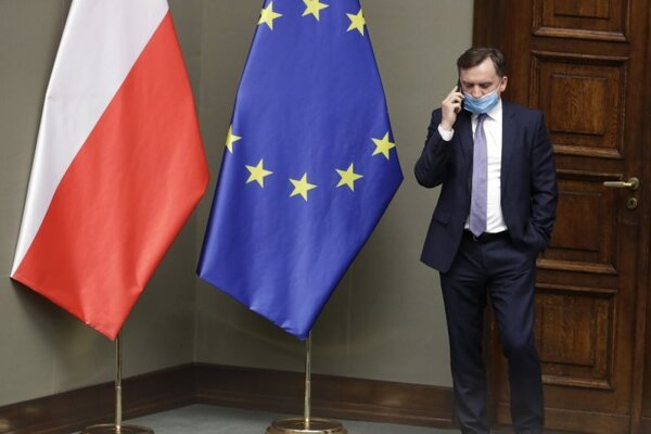 Poľský minister spravodlivosti Zbigniew Ziobro.