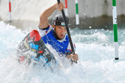 Slovenský reprezentant vo vodnom slalome Jakub Grigar.