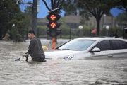 Záplavy v Číne.