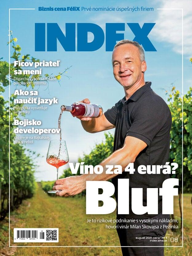Článok nájdete aj v augustovom vydaní mesačníka INDEX. Už v predaji.