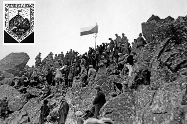 Pri príležitosti vztýčenia československej štátnej vlajky vystúpilo 12. augusta 1923 na Gerlachovský štít viac ako 200 ľudí.