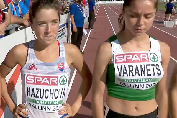 Líza Hazuchová (vľavo) si zabehla vestónskom Talline dva osobné rekordy aslovenské výkony roka.