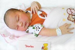 Diana Fürstová z Chalmovej sa narodila 19. 7. 2021 v Bojniciach