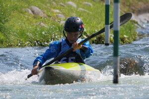 Budúcnosť vodného slalomu na Slovensku sa predviedla v Liptovskom Mikuáši na vodnom areáli Ondreja Cibáka.