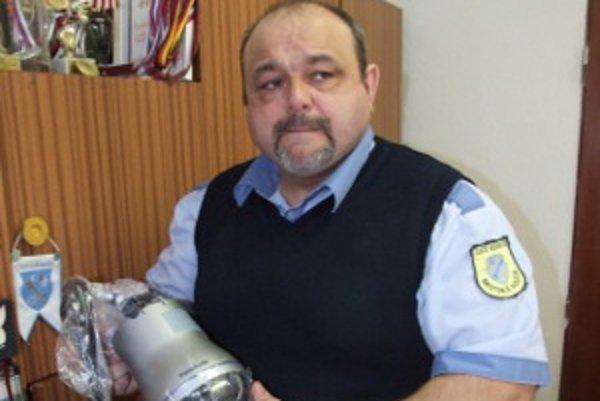 Ivan Hritz. Náčelník mestskej polície.