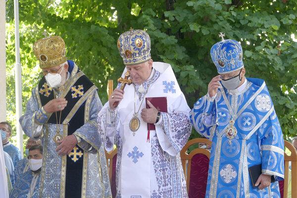 Z nedeľnej svätej liturgie.