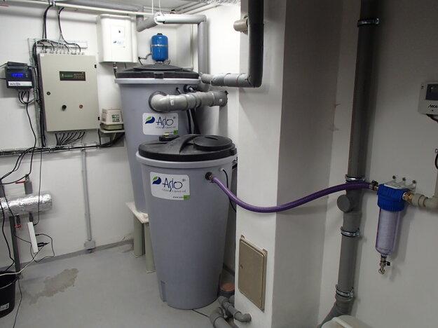 Systém na recykláciu šedej vody AS-AQUALOOP.